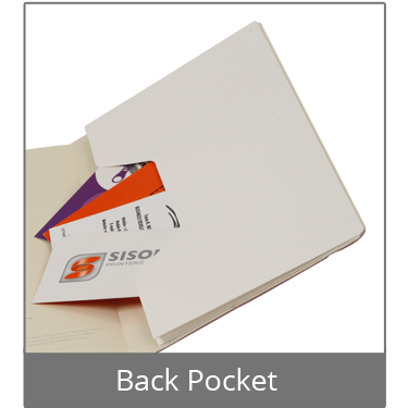Executive Eco Notebook Back Pocket