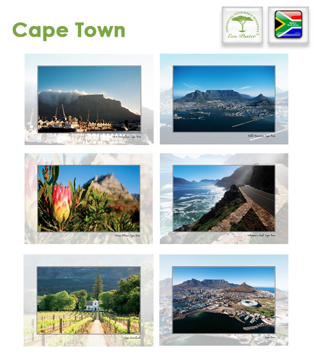 Eco Posters of Cape Town