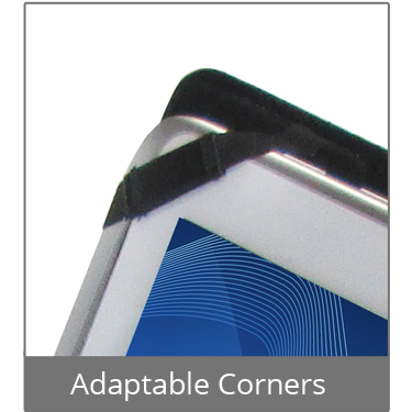 Tablet Holder Adaptable Corners
