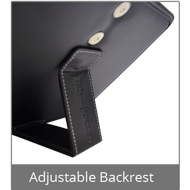 Tablet Holder Adjustable Backrest