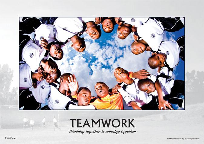 Soccer - Teamwork