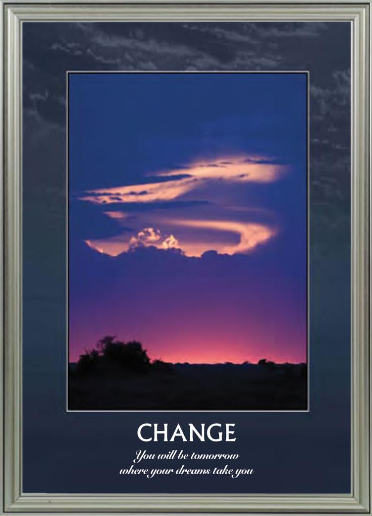 Bush Sunset - Change