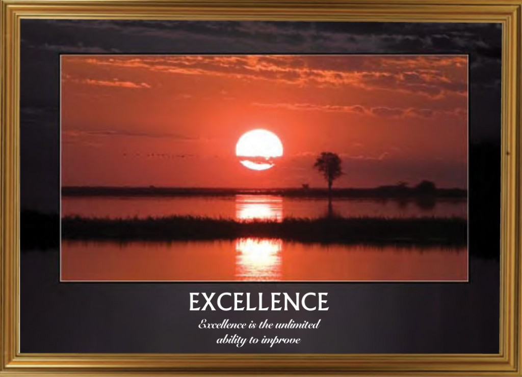 River Sunset - Excellence