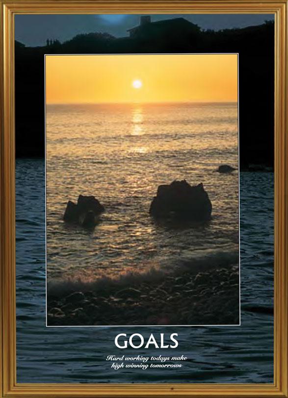 Ocean Sunset - Goals