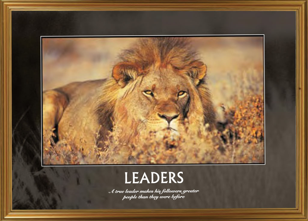 Motivational Posters Wildlife Inspirit World