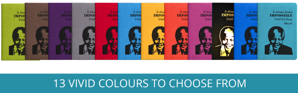 Mandela Eco Notebook 13 Colours