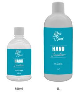 500ml -1l hand sanitizer