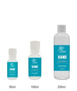 50ml -250ml hand sanitizer