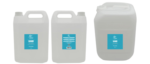 Bulk Hand Sanitizers, 5L and 25L