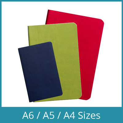 Custom Eco Notebook Sizes
