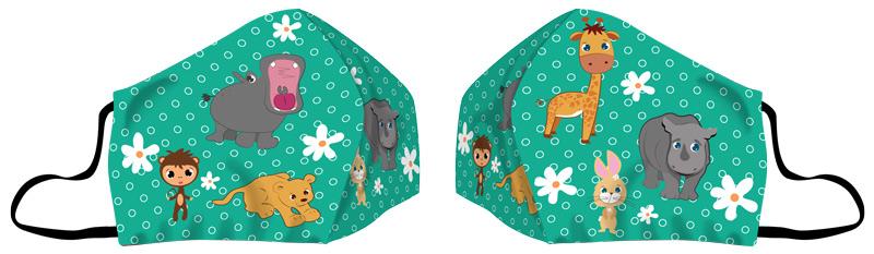 KIDS EAR MASK ANIMALS