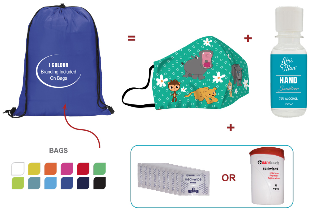 Childrens safety pack end-user