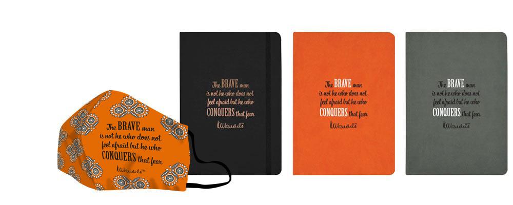 Mandela-day-face-masks-eco-notebooks-brave
