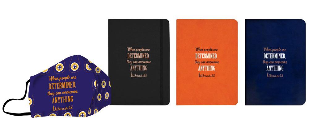 Mandela-day-face-masks-eco-notebooks-determined