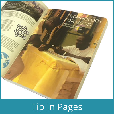 Tip-In-Pages