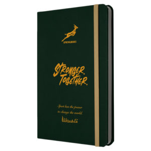 A5 Springboks Mandela Eco Notebook