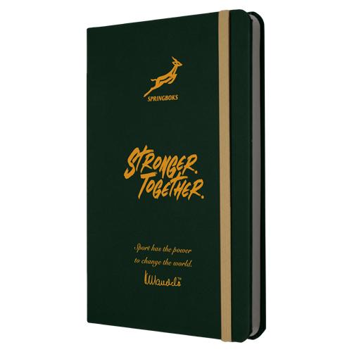 A5 Springboks Mandela Eco Notebook