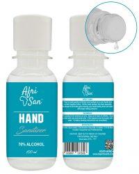 100ml bottle hand sanitizer