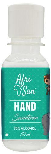 50ML Kids Animals Hand Sanitizer BOTTLE Front copy