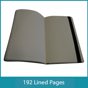 Nappa Leather Lined Pages FEAUTURE