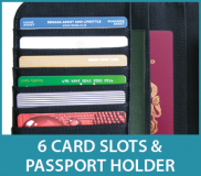 Thicker Border 6 Card Slots NEW BMobile ExcuBag Feature Card Slots